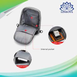 Fashion Outdoor Travel Sport Bag Polyester Crossbody Sling Shoulder Bag USB Charging Anti Theft Backpack for Men School Bag