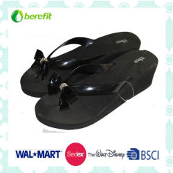 Wedge Heel EVA Sole and PVC Straps, Slippers
