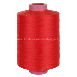 100% Polyester Dope Dyed DTY Yarn (75D/36f SD Nim) for Hand Kitting, Weaving
