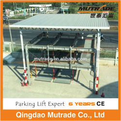 Automatic CE High Class Quality Parking Lots Auto Hydraulic Psh Mechanical Automated Smart Parking Solution