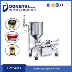 Semi-Automatic Jam/ Sauces/Peanut Butter Filling Machine