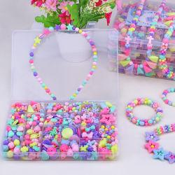 New Fashion Wholesale Girls DIY String Beads Intellectual Toys