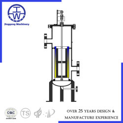 Automatic on-Site Filter Stainless Steel & Carbon Steel for Beer Brewery/Beverage/Pharmacy Industry Liquid/Caustic/Acid/Water Filter