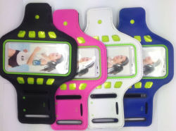 Universal Armband Case for Outdoor Sports LED Light Reflective