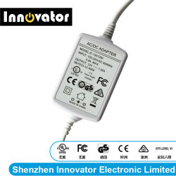 12V 1.25A 15W Desktop Adapter for Audio, Certified by UL, FCC Ce GS & Rcm