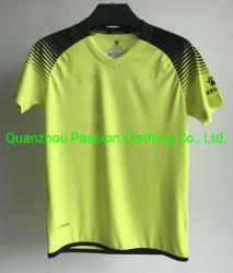 Customized 100% Polyester V-Neck Soccer Wear for Men Sportswear