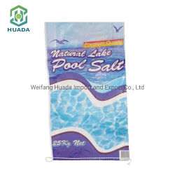 China Factory Cheap Price Custom Printed Color Laminated PP Woven Packaging Rice Flour Feed Fertilizer Bag