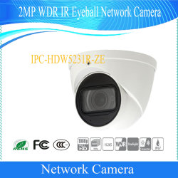 Dahua 2MP Ipc Security CCTV Camera Suppliers WDR IR Eyeball Network Outdoor Waterproof Surveillance Digital Video Camera (IPC-HDW5231R-ZE)