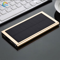 Slim Type Solar Power Bank 20000mAh Battery Charging