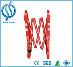 Folding Plastic Traffic Barrier/Crowd Control Barrier for Traffic Safety