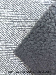 Hw6500 100% Polyester Fake Wool Knitted Fabric