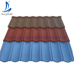 Relitop Factory Wholesale Colorful Stone Coated Metal Roof Tile