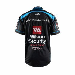 Custom Embroidery Supercar Sports Uniform Racing Apparel Volvo Shirt Factory