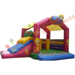PVC Inflatable Tweety Jumping Castle Bouncer with Air Blower