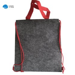 Felt Drawstring Bag Backpack Sport Gift Bag