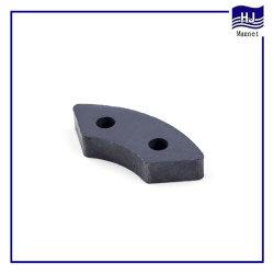 Watt Cylinder Ring Block Magnetic Sintered Ferrite Magnet for Motor Industrial
