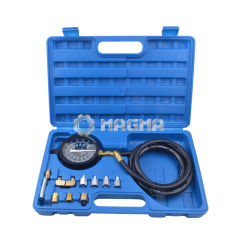 140Psi//10Bar Autos Wave Box Pressure Meter Oil Pressure Tester Gauge Garage Tool