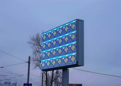 P10mm Outdoor Fixed LED Screen, Full Color LED Display for Advertising