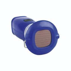 ABS Portable in Blue Color Hand-Cranked Solar Camping LED Light