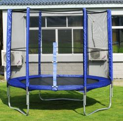 Nanjian High Quality 10ft Outdoor Round Trampoline with Enclose