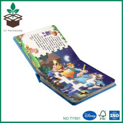 Custom Rigid Printed Cardboard Paper Packaging with Book Cover for Jigsaws/Puzzles
