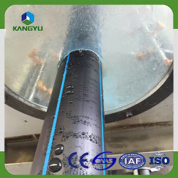 SDR26 SDR21 SDR17 HDPE 250/315mm Pipes for Construction Materials