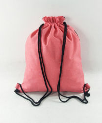 Promotional Custom Drawstring Sport Shopping Gift Outdoor Sack Pack Bag