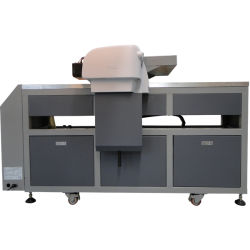 Ce Approved Inkjet LED UV Flatbed Printer for Metal, Wood, Acrylic and PVC Card