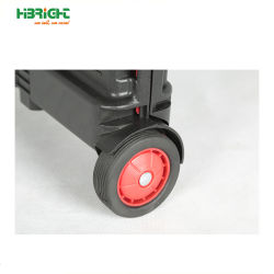 Wheelie Plastic Shopping Collapsible Roller Cart with Telescopic Handle