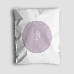 Wholesale Custom Logo Printed Plastic Postage Bag Custom Purple Poly Mailer Bag