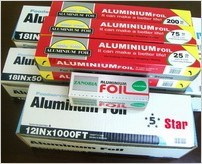 Household Aluminium/Aluminum Foil for Food Packaging (A8011&O)