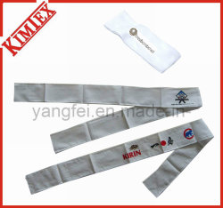 Sports Embroidery Terry Cotton Sweatband Headband (kimtex-03)