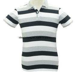 48b0dd8f7 OEM Factory Wholesale Men's Short Sleeve Customized Logo Striped Polo Shirt