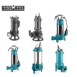Cutter Slurry Suction Dirty Water Submersible Pump