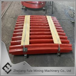 Mining Machine Cast Steel Wear Jaw Crusher Spare Parts