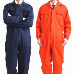 Orange Reflective Strips Safety Coverall Workwear in Guangzhou