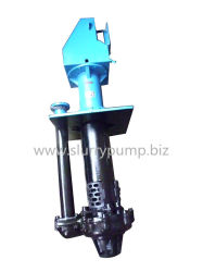 Rubber Lined Vertical Submersible Slurry Pump for Corrosive Liquid