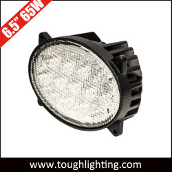 E-MARK Approved Flood Beam 6.5 Inch 65W LED Oval John Deere Headlight