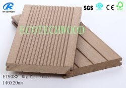 High Strength & Low Expansion Bi-Color WPC Decking with Waterproof, UV Resistance etc.