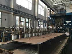 Wire Hot DIP Galvanizing Production Line with Ce Certified
