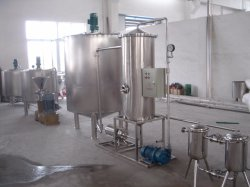 Complete Set Juice Mixing and Packaging Line