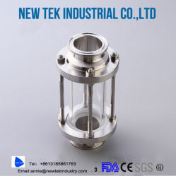 Sanitary Weld Straight Thick-Walled Sight Glass