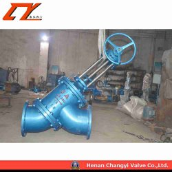 Ceramic Sealing Y-Type Globe Valve for The Alumina Industry