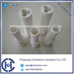 Custom Designed Alumina Ceramic Pipe Lining for Wear Protection
