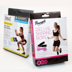 Sport Tools Resistance Band Sports Products Packing Color Box