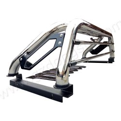 Dongsui Top Selling 201/304 Stainless Steel 4X4 Pickup Truck Sport Roll Bar for Dmax