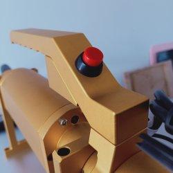 Portable PP PA PE Hard Plastic 20W 30W Fiber Laser Marking Machine with Cheap Price