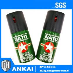 Pepper Spray 60ml CS Tactical Military Tear Gas Spray Police Tactics Spray