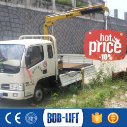 Knuckle Boom Mobile Truck-Mounted Car Lift Crane for Sale