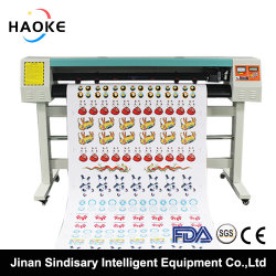 1380mm/54inch Auto Registration Mark Cutting Plotter with Laser and Blade for Sticker /Paper and Soft Material